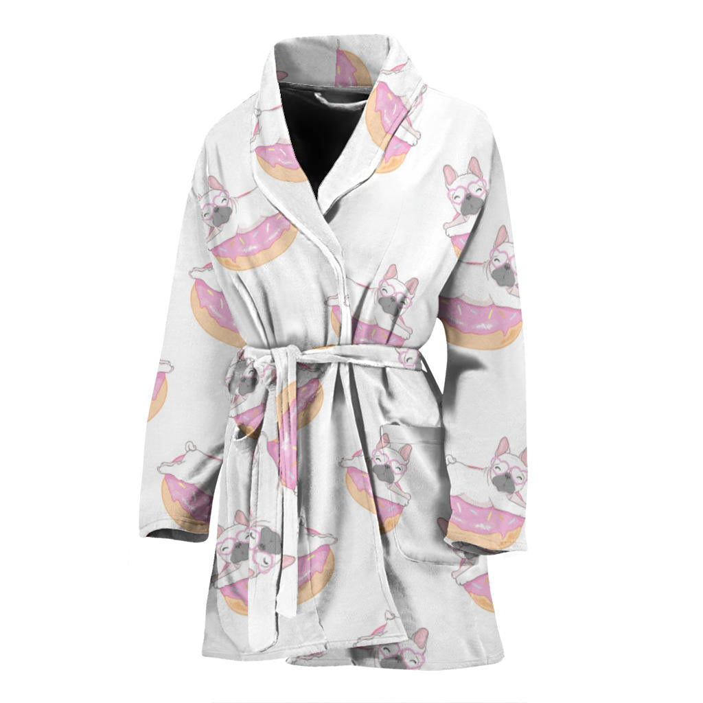 Buddy - Bathrobe for women - Frenchie Bulldog Shop