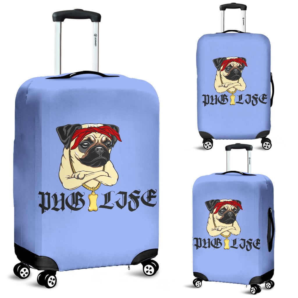 Pug Life - Luggage Covers - frenchie Shop
