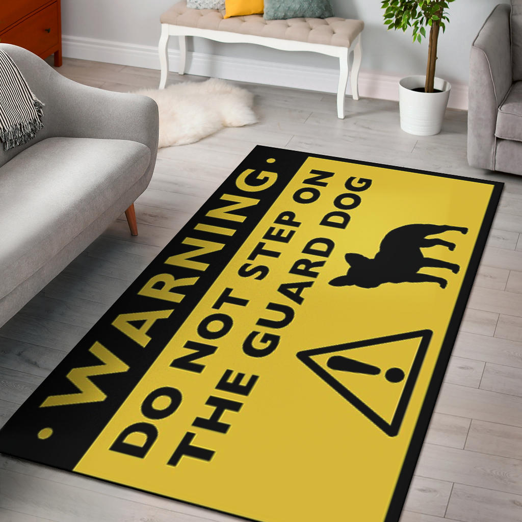 Funny Warning Frenchie - French Bulldog Rug - frenchie Shop