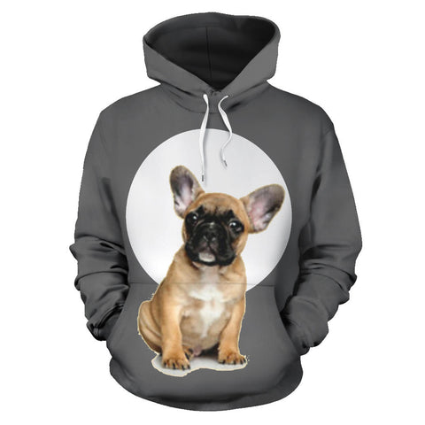 Cute Brown Frenchie - French Bulldog Hoodie - frenchie Shop