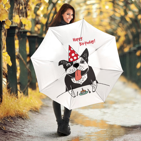 Funny Birthday Frenchie - French Bulldog Umbrella - frenchie Shop