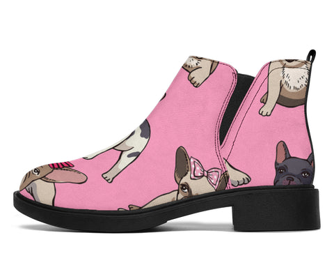 Cute Puppy Frenchie - French Bulldog Fashion Boots - frenchie Shop