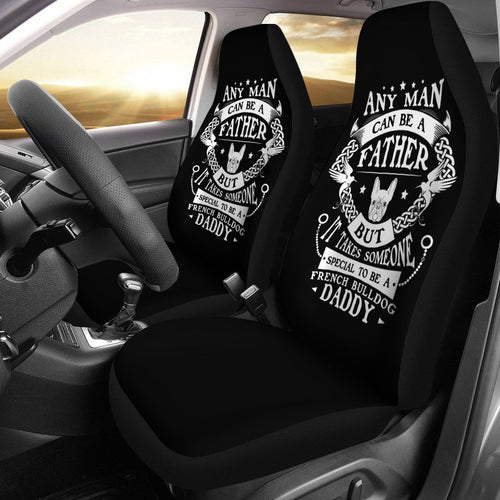 Frenchie DADDY - Car Seat covers