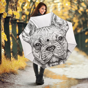 Sketch Cute Frenchie - French Bulldog Umbrella - frenchie Shop