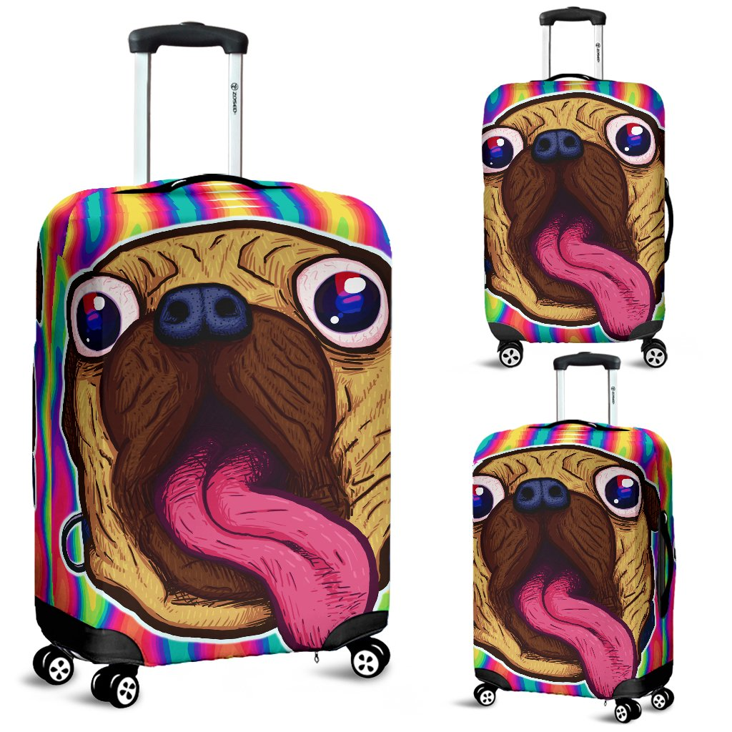 My Lovely Pug - Luggage Covers - frenchie Shop