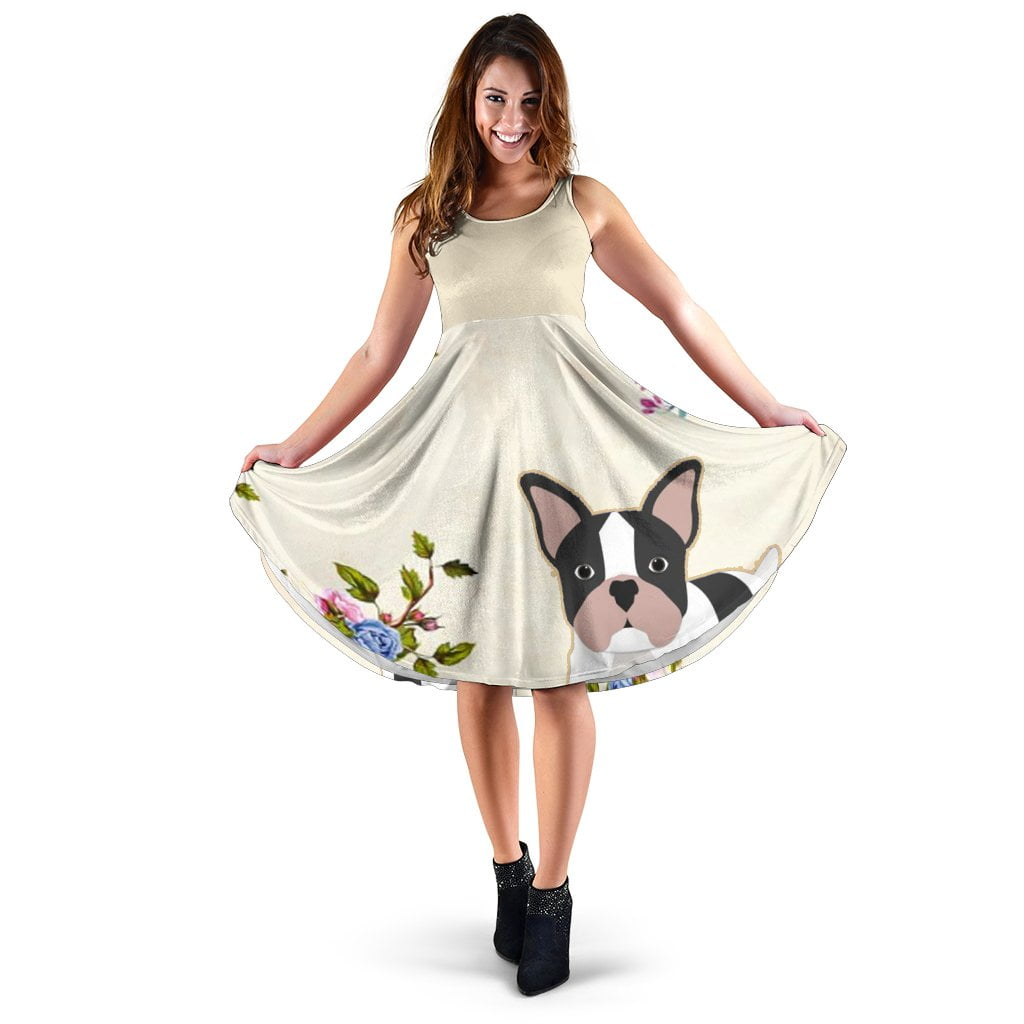 Jasper - Women Dress - Frenchie Bulldog Shop