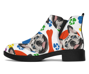 Brown Frenchie - French Bulldog Fashion Boots - frenchie Shop