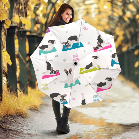 Funny Yoga Frenchie - French Bulldog Umbrella - frenchie Shop