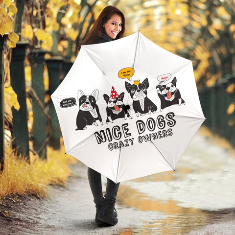 Funny Team Frenchie - French Bulldog Umbrella - frenchie Shop