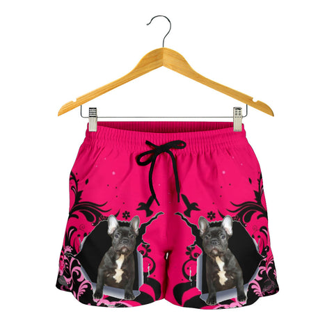 Funny Black Frenchie - French Bulldog Women Short - frenchie Shop