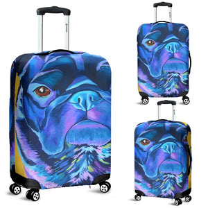 Pug Face - Luggage Covers - frenchie Shop