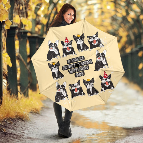 Funny Reaction Frenchie - French Bulldog Umbrella - frenchie Shop