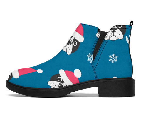 Cute Christmas Frenchie - French Bulldog Fashion Boots - frenchie Shop