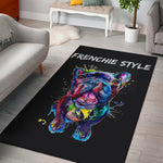 Abstract Painting Frenchie - French Bulldog Rug - frenchie Shop