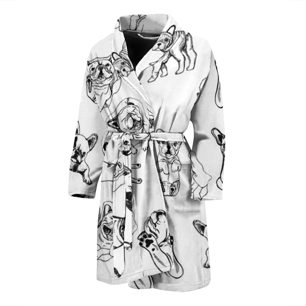 Maxi - Bathrobe for men - Frenchie Bulldog Shop