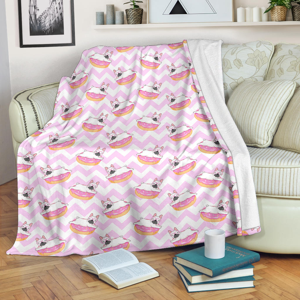 Gracie French Bulldog Blanket - Frenchie Bulldog Shop