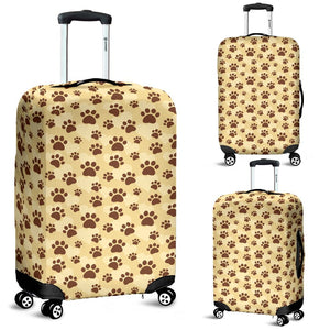 Frenchie Paws Luggage Cover