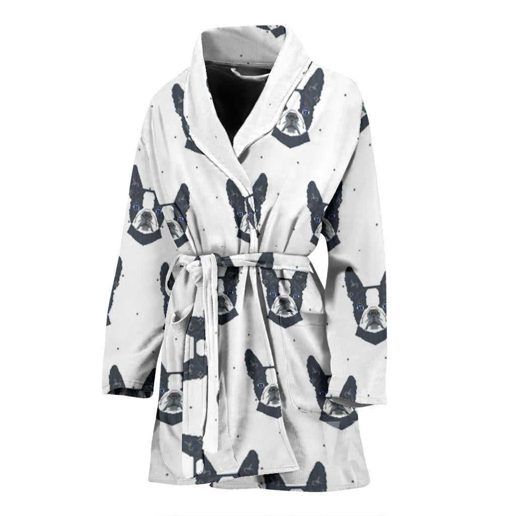 Bailey - Bathrobe for women - Frenchie Bulldog Shop