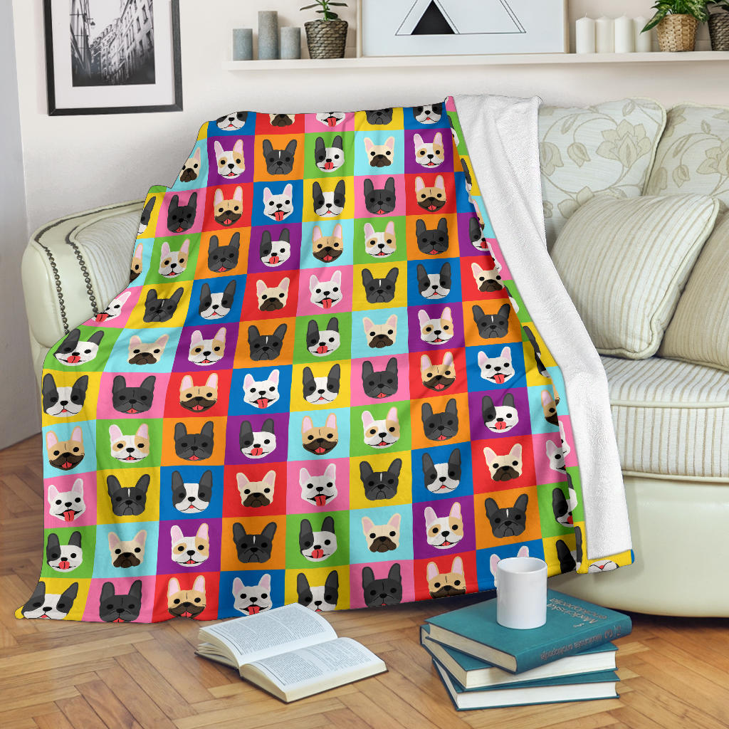 Daisy French Bulldog Blanket - Frenchie Bulldog Shop