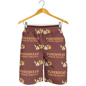 Pure Bread - French Bulldog Men Short - frenchie Shop
