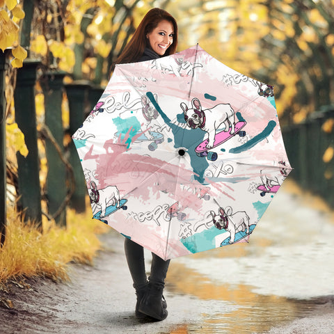 Funny Skateboard Frenchie - French Bulldog Umbrella - frenchie Shop