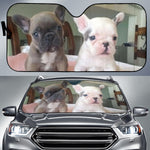 Two Puppy Frenchie - French Bulldog Auto Sun Shades - frenchie Shop