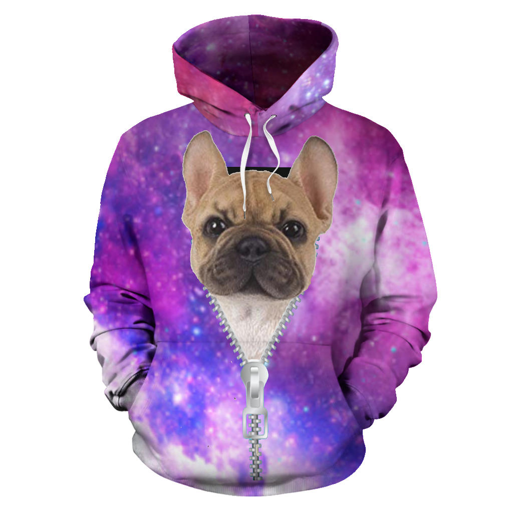 I'm Here - French Bulldog Hoodie - frenchie Shop