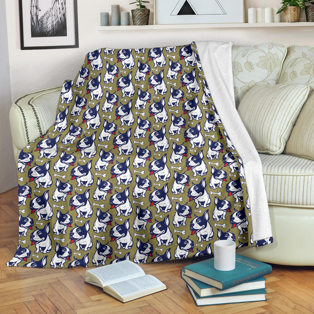 Charley French Bulldog Blanket - Frenchie Bulldog Shop