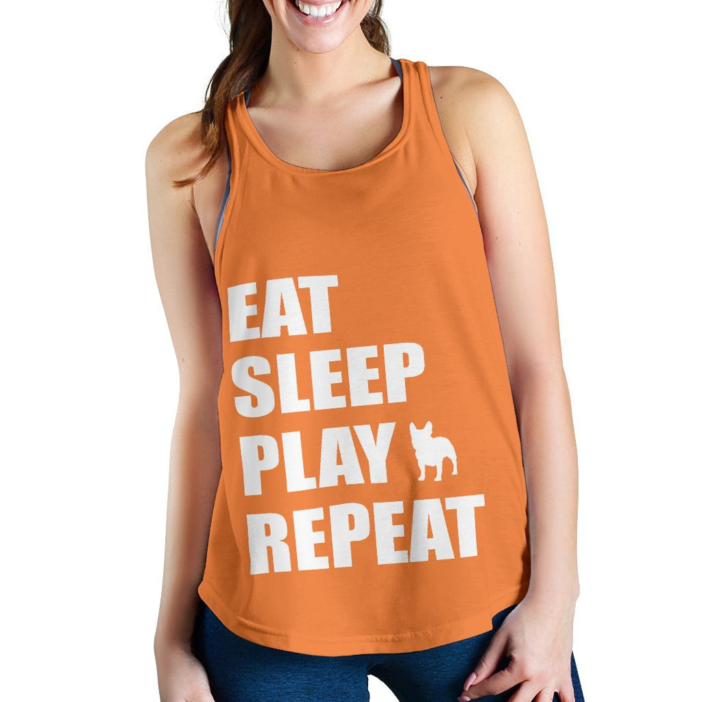 French Bulldog Eat Sleep Play Frenchie Repeat - frenchie Shop