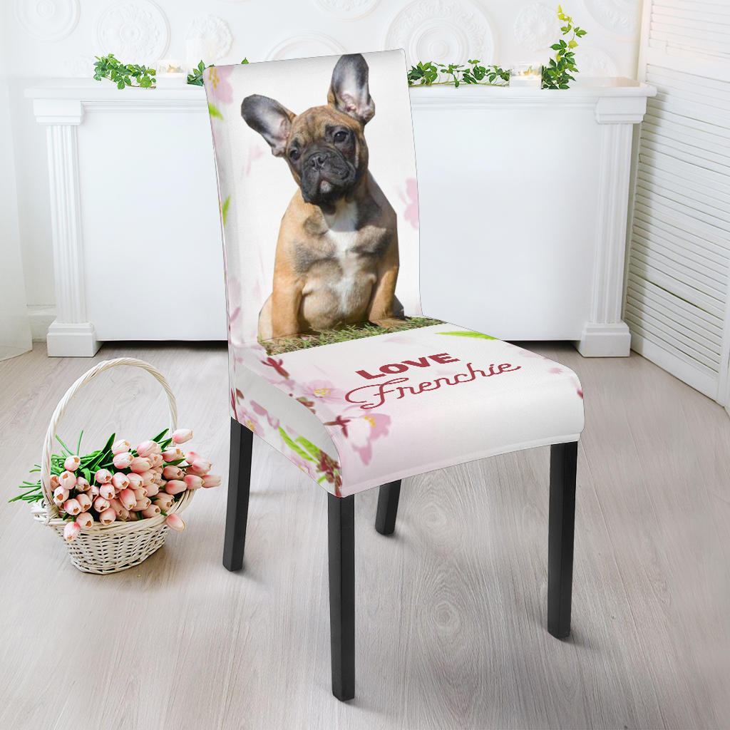 Brown Frenchie - French Bulldog Dining Chair - frenchie Shop