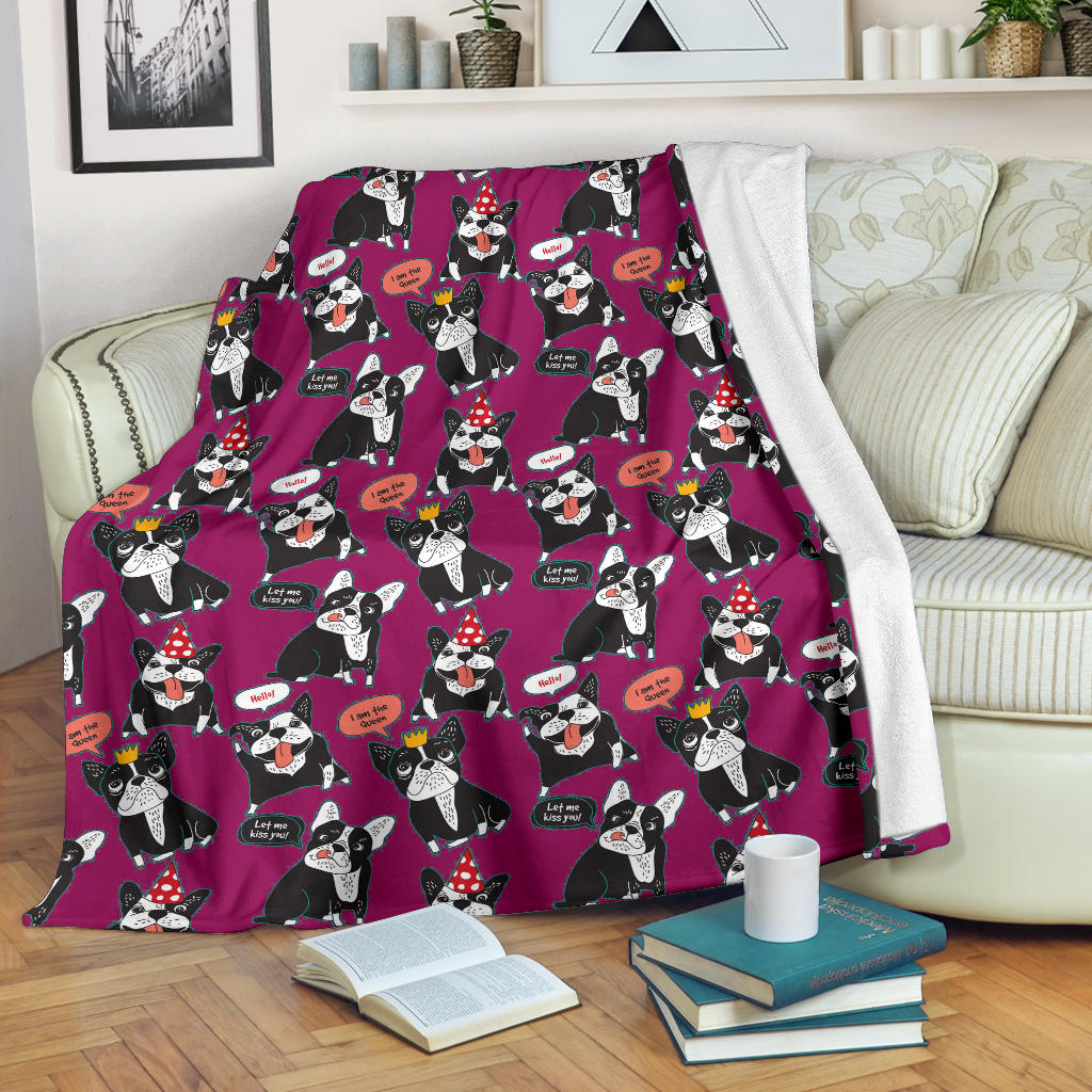 Max French Bulldog Blanket - Frenchie Bulldog Shop