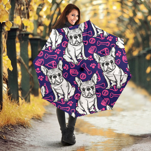 Abstract Cute Frenchie - French Bulldog Umbrella - frenchie Shop