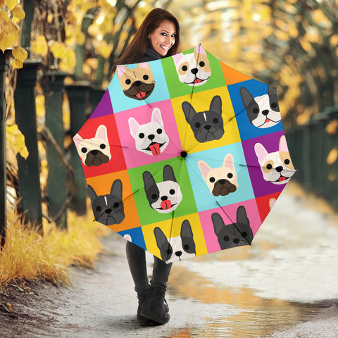 Funny Colorful Frenchie - French Bulldog Umbrella - frenchie Shop