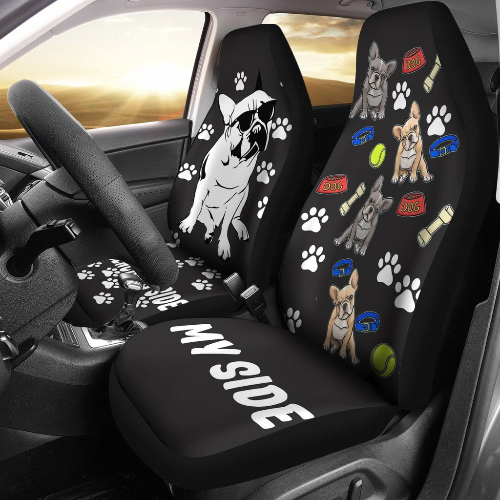 Frenchie's side - Car Seat covers - frenchie Shop