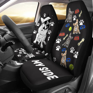 Frenchie's side - Car Seat covers