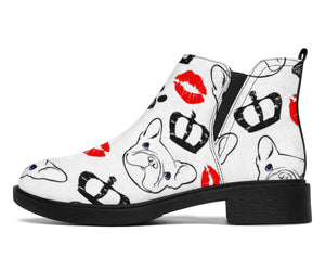 Lips and Frenchie - French Bulldog Fashion Boots - frenchie Shop