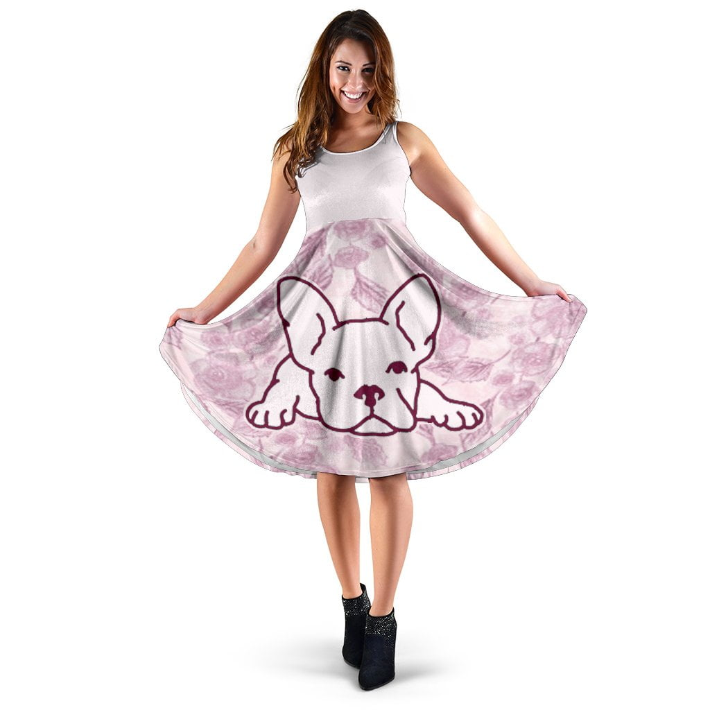 Leo - Women Dress - Frenchie Bulldog Shop
