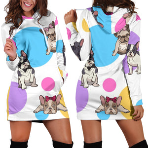 Frenchie Mode - French Bulldog Women Hoodies