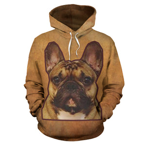 Brown Frenchie - French Bulldog Hoodie - frenchie Shop