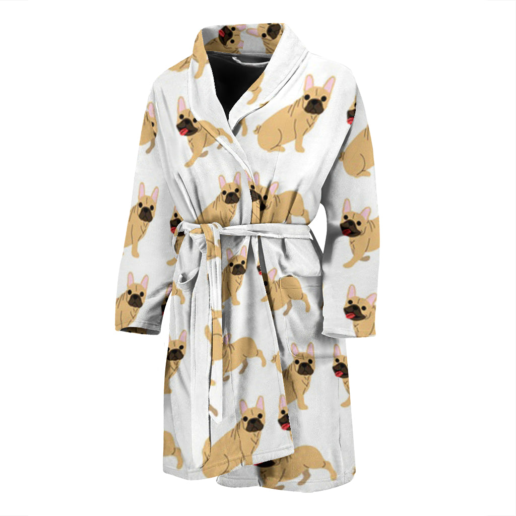 Mia - Bathrobe Men - Frenchie Bulldog Shop