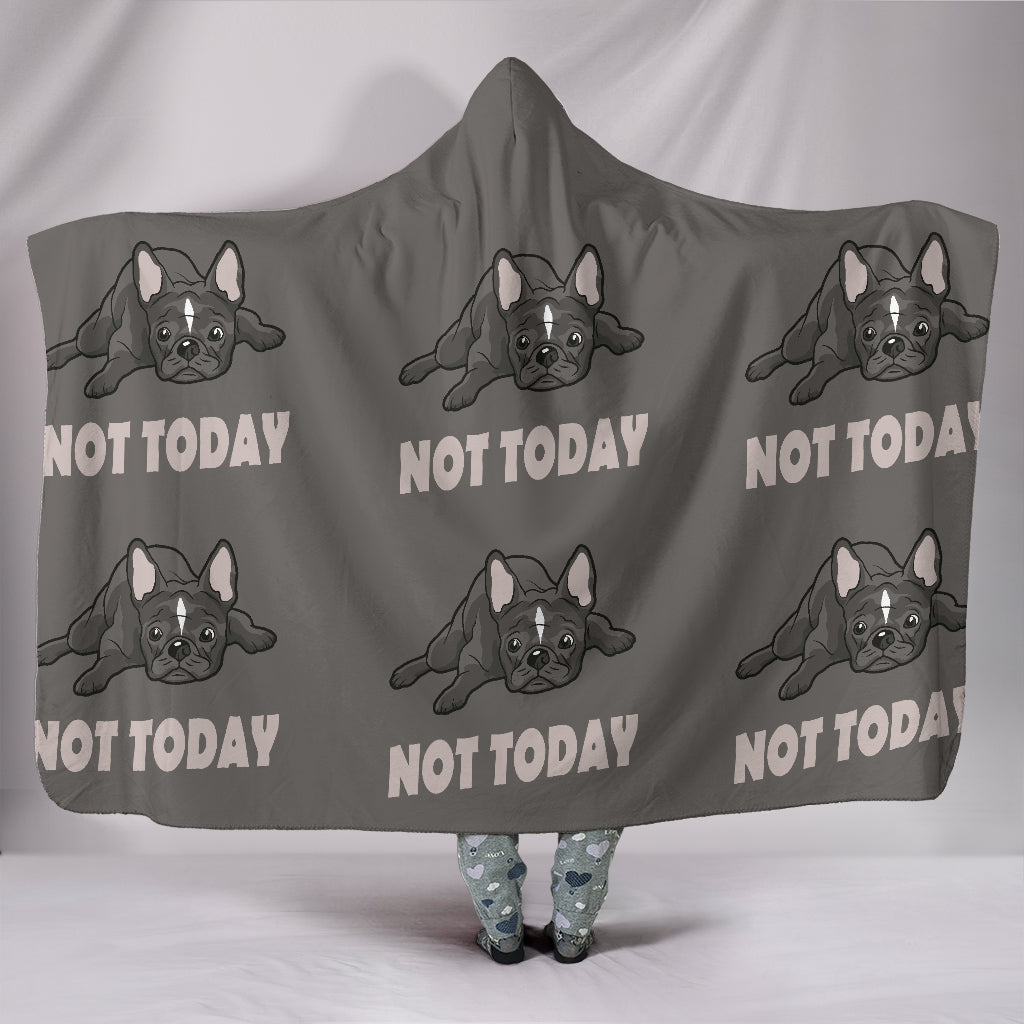 Bella - Hooded Blanket - Frenchie Bulldog Shop
