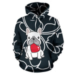 Sandy-hoodie - Frenchie Bulldog Shop