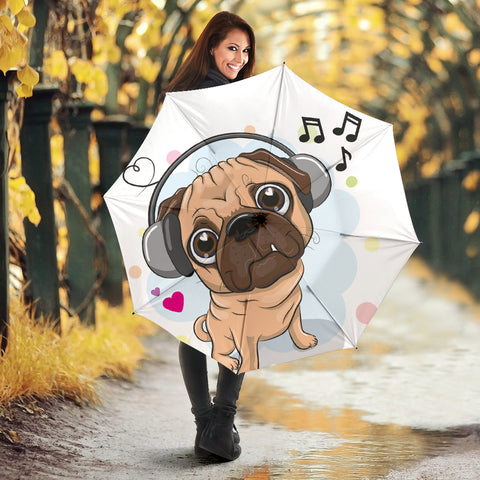 Cute Pug - Umbrella - frenchie Shop