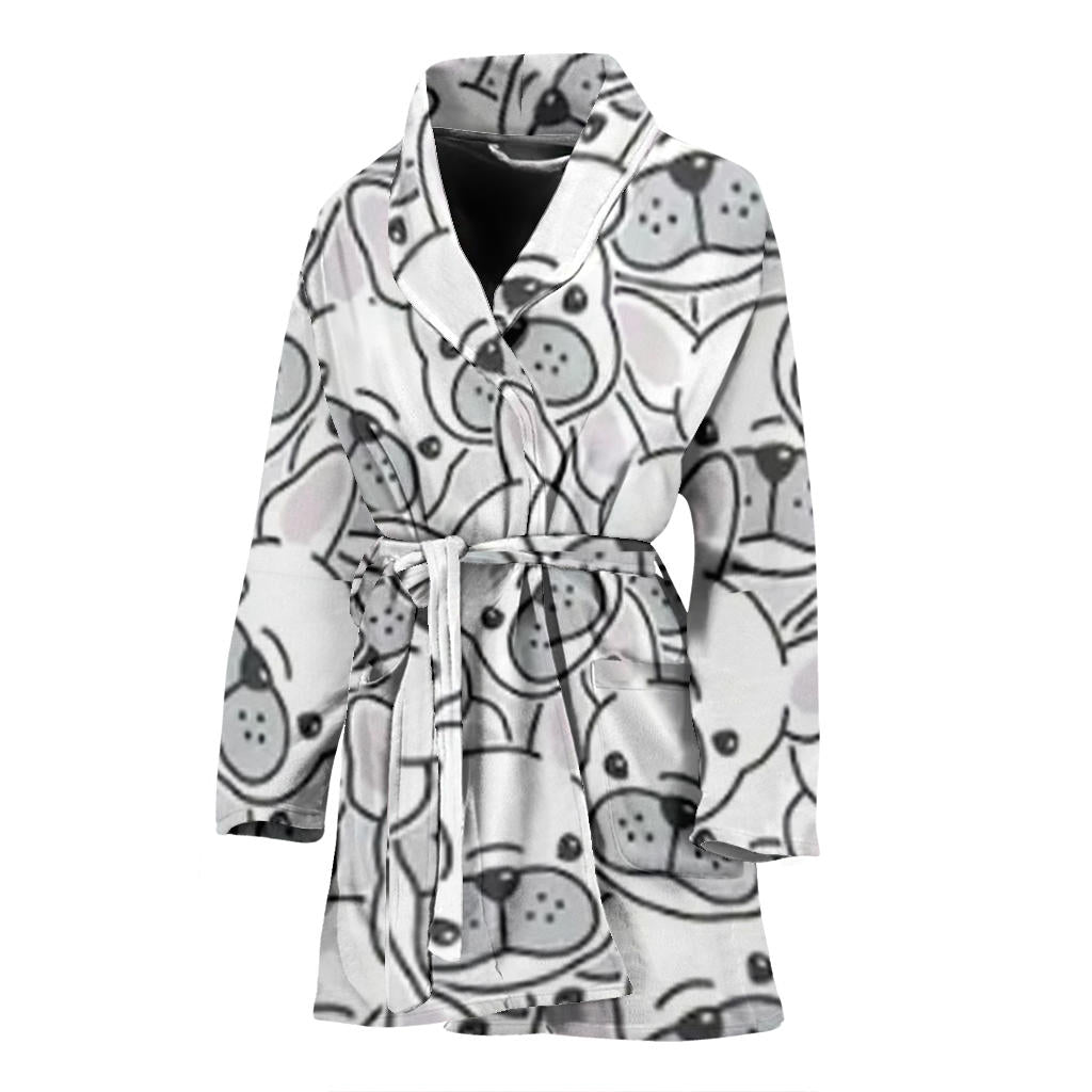 Roxy - Bathrobe Women - Frenchie Bulldog Shop