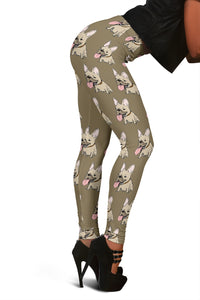 Frenchie Brown - French Bulldog Legging - frenchie Shop