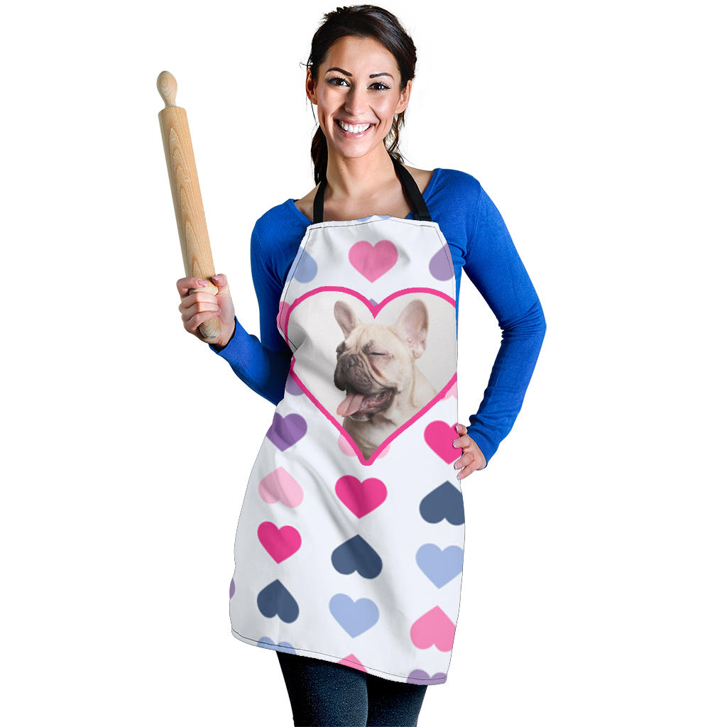 Love Frenchie - French Bulldog Women Apron - frenchie Shop