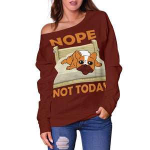 French Bulldog Lazy Nope Not Today - frenchie Shop