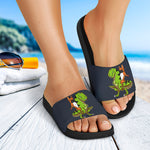 Funny T-Rex Frenchie - French Bulldog Slide Sandals - frenchie Shop