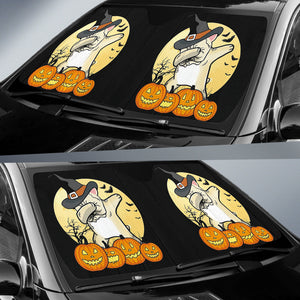 Dabbing Halloween Frenchie - French Bulldog Auto Sun Shades - frenchie Shop
