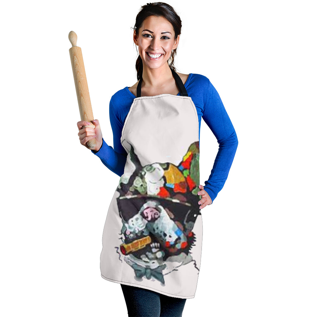 Cool Frenchie - French Bulldog Women Apron - frenchie Shop